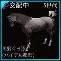 【馬交配#3】5世代野生馬Lv.21♀