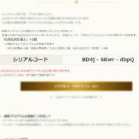 【シリアルコード】2018/09/20臨時メンテナンスのお詫び